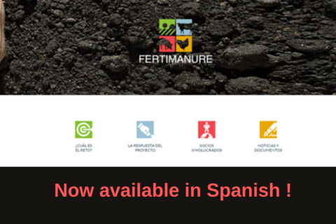 FERTIMANURE Website now available in Spanish!