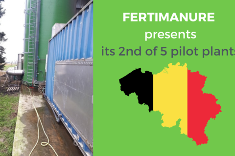 FERTIMANURE presents its 2nd pilot plant
