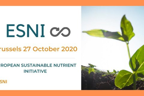 The ESNI (European Sustainable Nutrient Initiative) conference will take place in Brussels on 27 October 2020