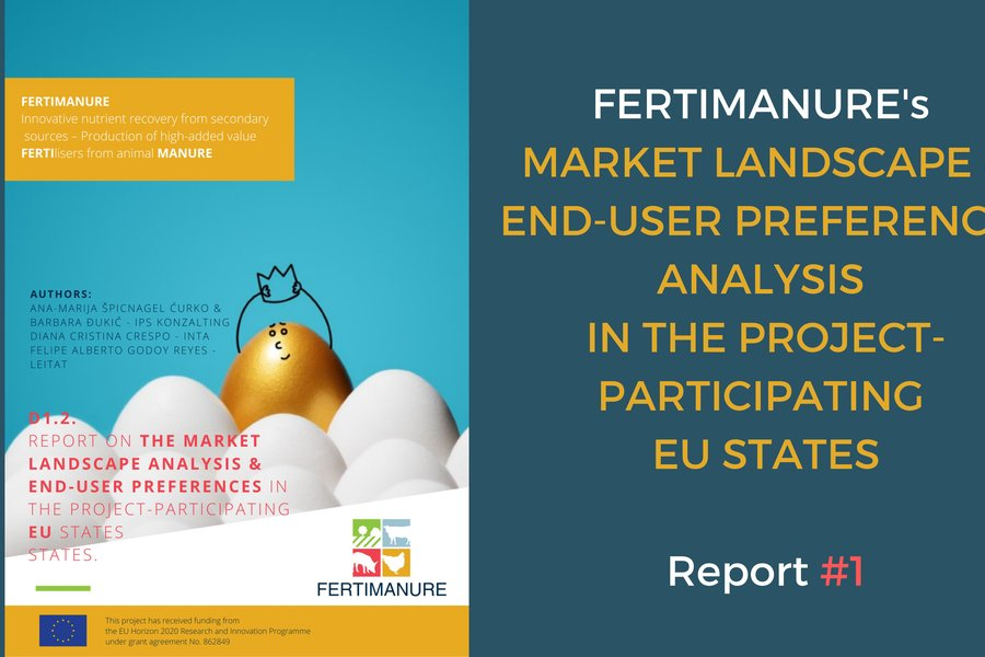 FERTIMANURE's report #1 on Market Landscape analysis & end-users preferences in the projec-participating EU states