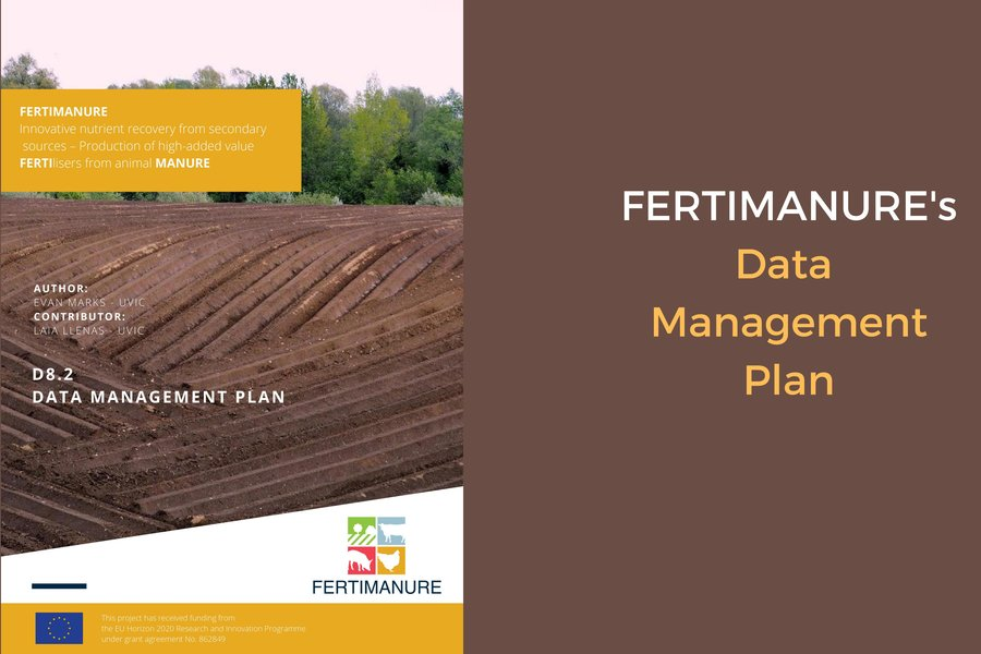 FERTIMANURE' Data Management Plan